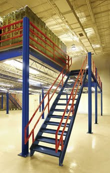 Structural Steel Mezzanine Systems