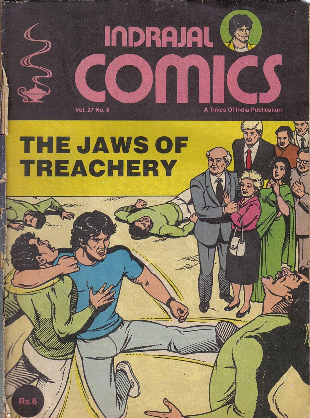 Dara Indarajal Comics Last Issue