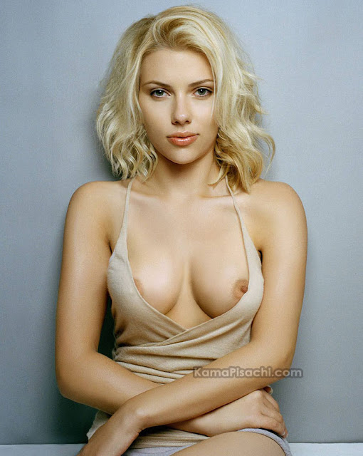 scarlett johansson nude showing nipples