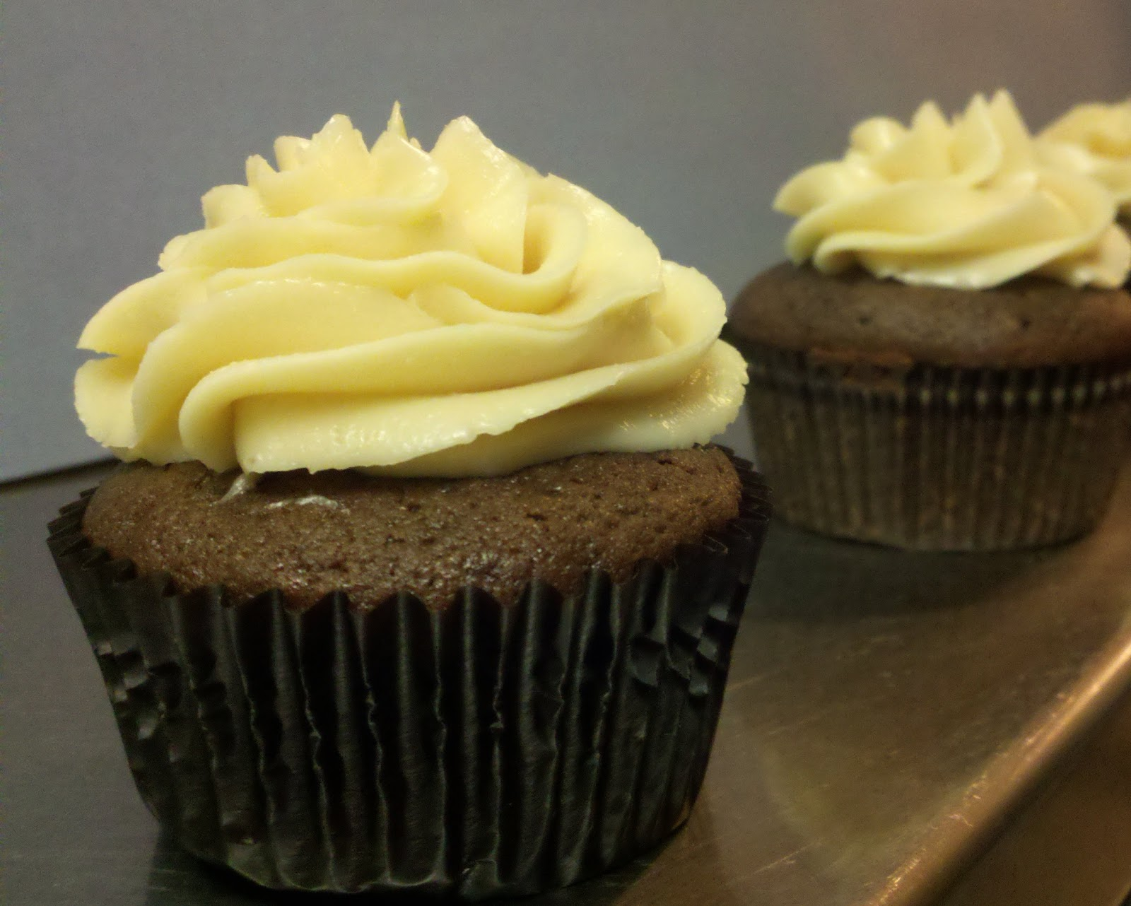 Beer for Everyone! Chocolate Whiskey and Beer Cupcakes
