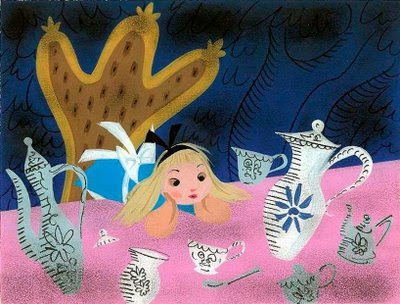 Mary Blair's Alice In Wonderland Concept Art — Daughter Earth