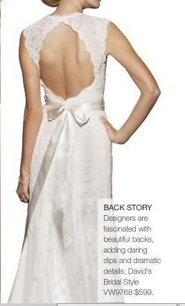 100 days to plan a wedding 39 frugal 39 dress finds for Frugal fannies wedding dresses