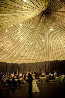 Parachute Reception Ceiling