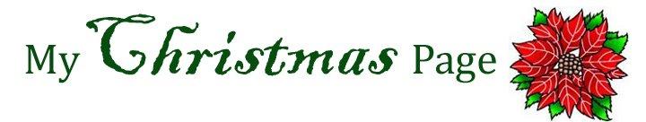 My Christmas Page