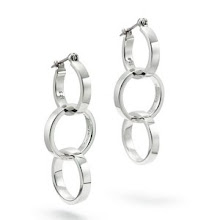 Paloma Picasso® Triple Circle earrings