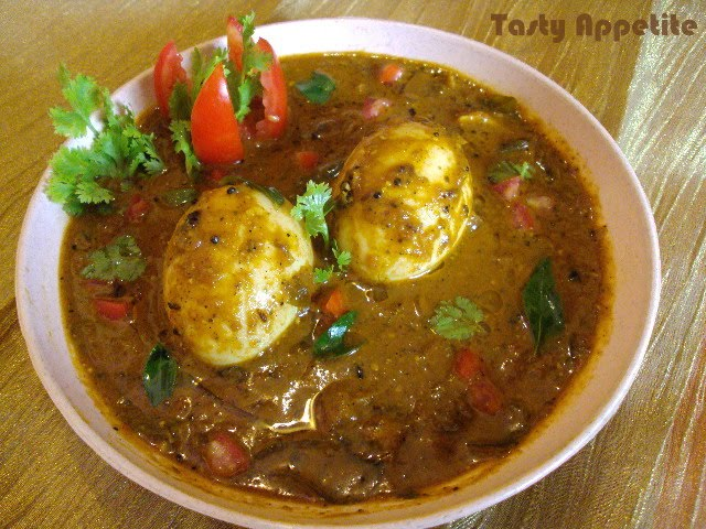 Egg Curry Masala | Tasty Appetite