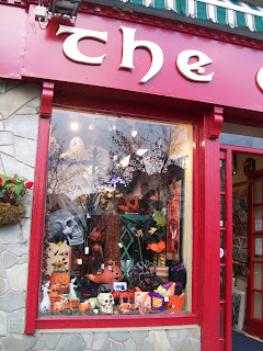 The Gift Shop's Halloween Shop Window