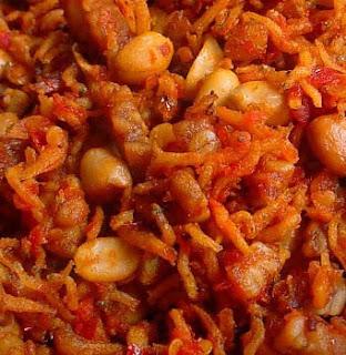 Sambal Teri Kacang