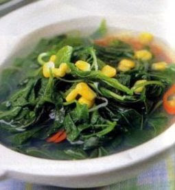 Clear Spinach Soup (Sayur Bening)