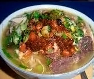 Spicy Tegal Soup Traditional Style (Soto Tegal)