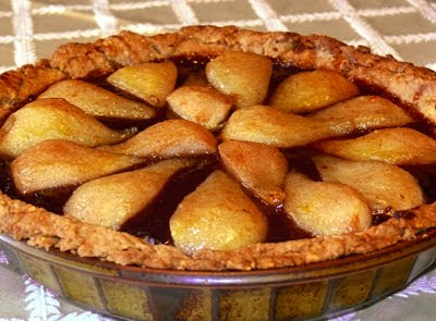 The Social Diner: Chocolate Pear Tart Recipe