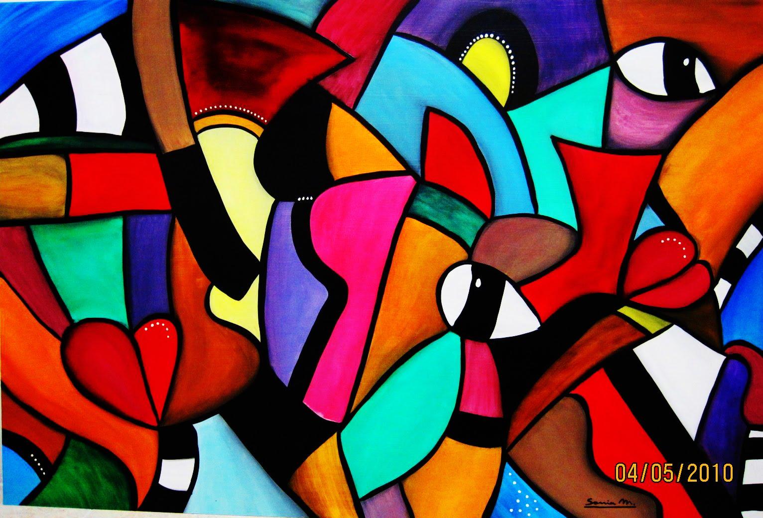El desv n de sof a pintura abstracta for Imagenes de cuadros abstractos faciles de hacer