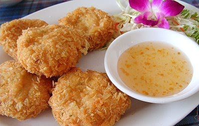 Amazing Thai Food: tod mun koong - THAI SHRIMP CAKES ...