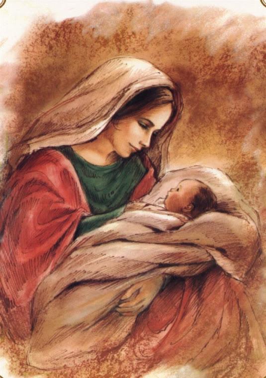 Sfanta Maria si pruncul Iisus