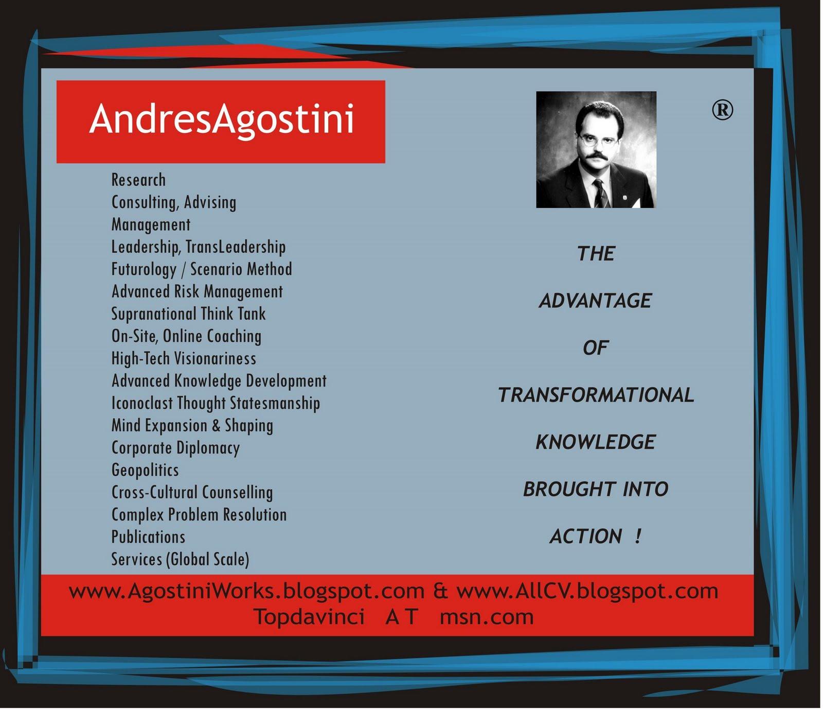 Leadership Success Tenets By (c) Andres Agostini -- Arlington, Virginia, USA