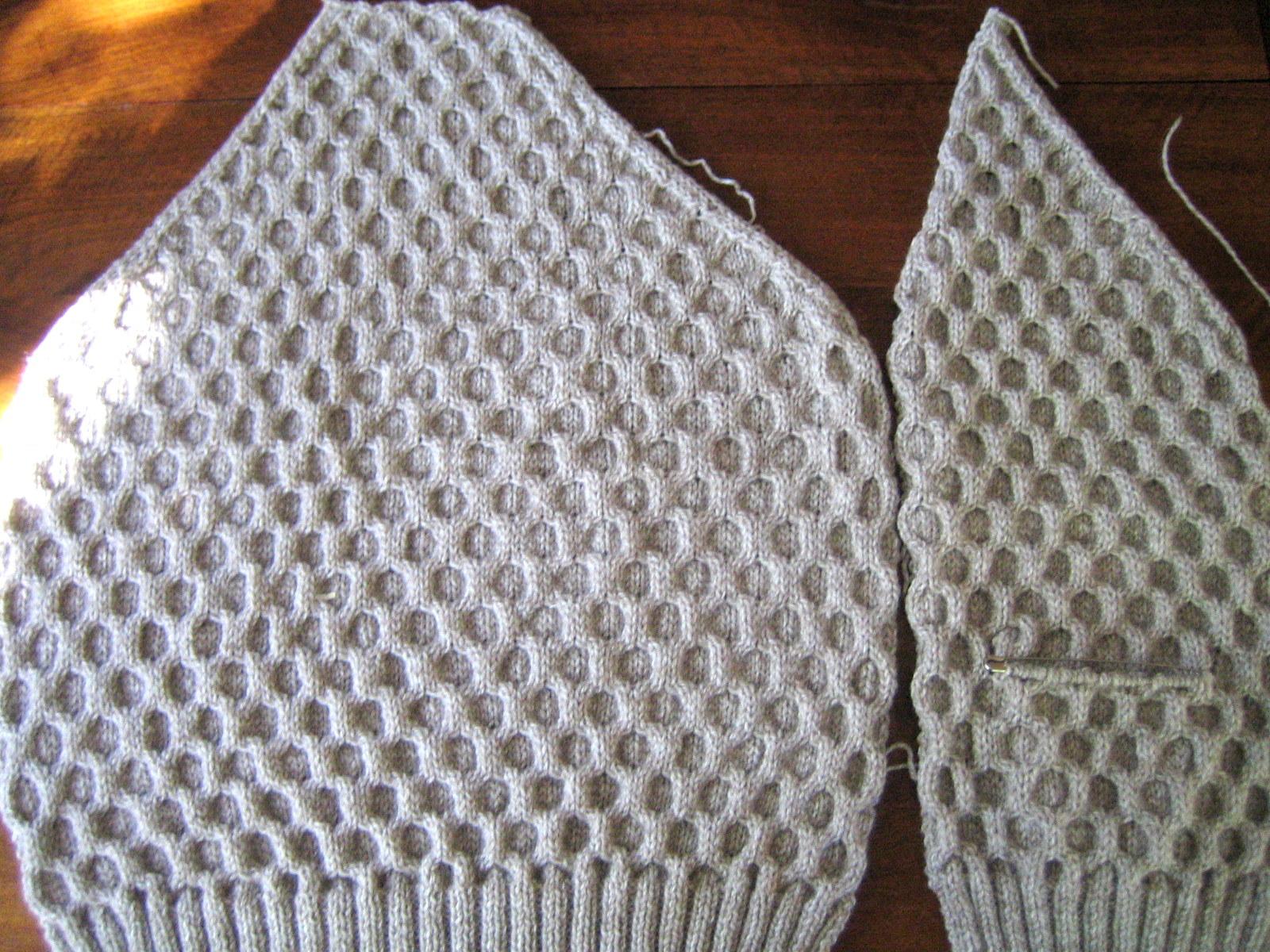 L 39 atelier de ninoun en cours sur mes aiguilles - Changer de couleur tricot ...