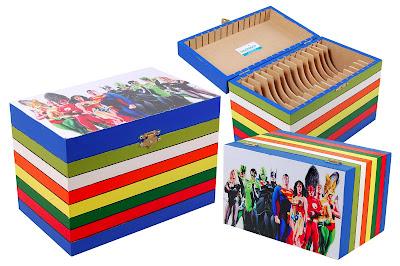 Badolaco: porta cd dvd super heróis.