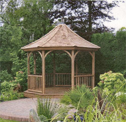 Gazebo, an outdoor entertainment centre