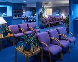 Waiting room design for hospital
