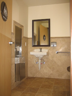 Restroom design for hotel or personal