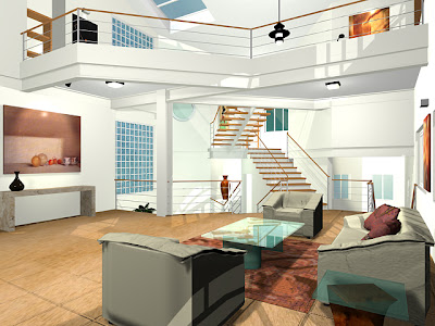 Living Room Based on Future Design