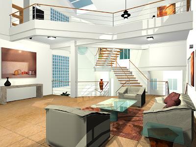 Living Room Based on Future Design