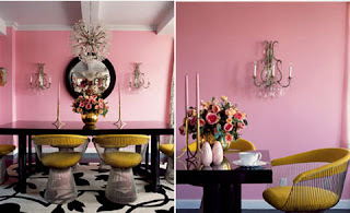 Best Apartment Interior Design with Pink Color