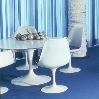 Tulip pedestal dinning chair