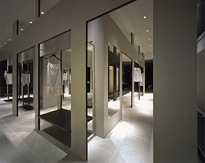 Interior Design Store on Modern Store Design With L Shaped Wallshome Improvement Design