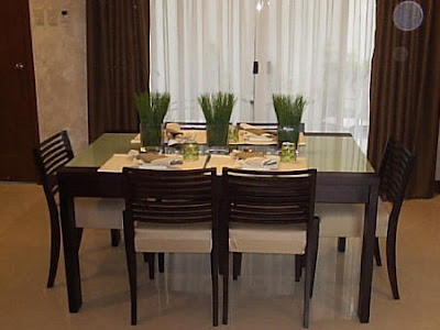 simple home design for dining room