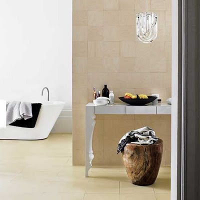 Clean bathroom ideas, white color dominated
