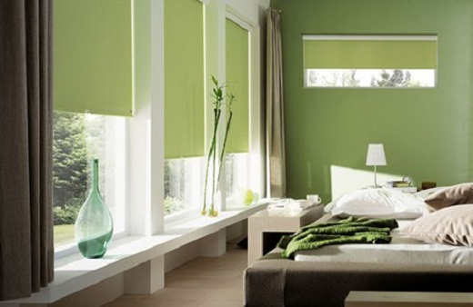 Green Bedroom Decor for Small Bedroom Designs