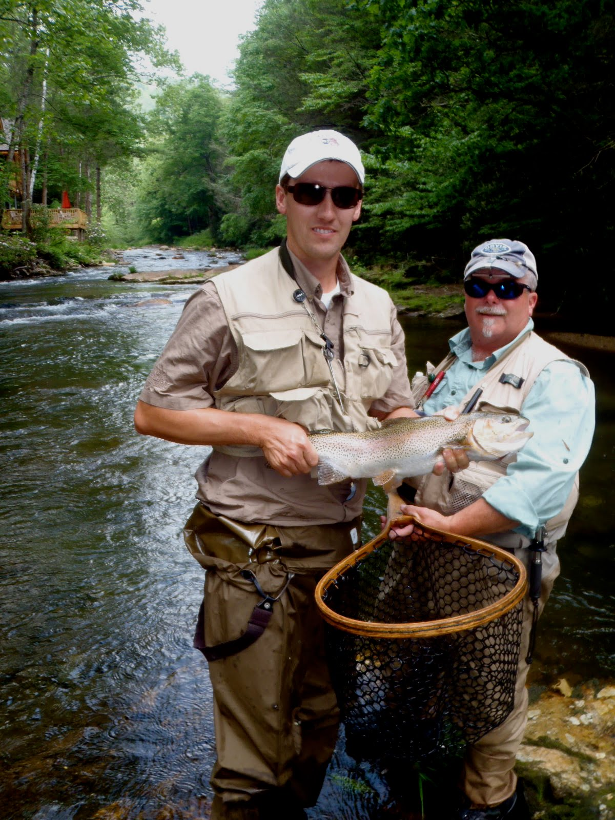 North carolina fly fishing fly fish tennessee for Tennessee trout fishing
