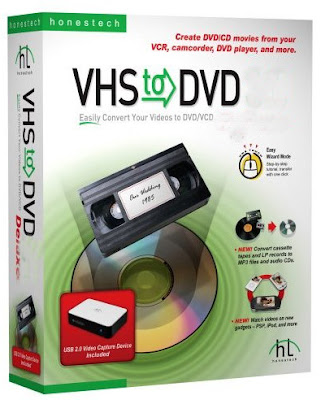 Download Honestech VHS to DVD v4