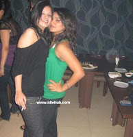 MS Dhoni Wife Sakshi Enjoying Smoking Pics
