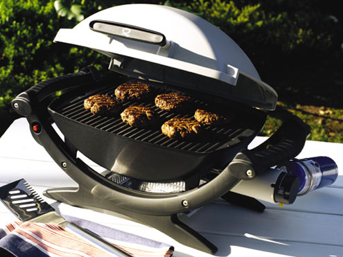 weber q 120 gas grill. Black Bedroom Furniture Sets. Home Design Ideas