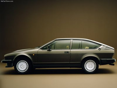 1984 Alfa Romeo Gtv6. Alfa Romeo Alfetta GTV 6 2.5i