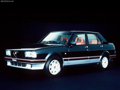 Alfa Romeo Giulietta 1983. The Alfa Romeo Giulietta Nuova or Nuova Giulietta