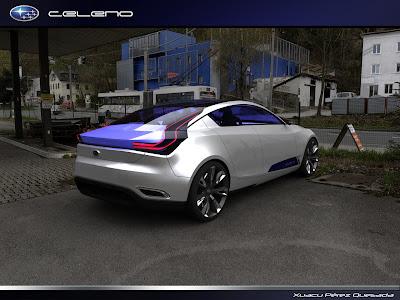 Subaru Celeno Concept Back