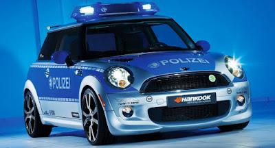 Mini E Police Car