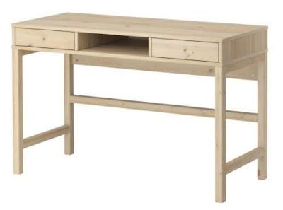 Min Lille Værden Mitt Nye Ikea Skrivebord