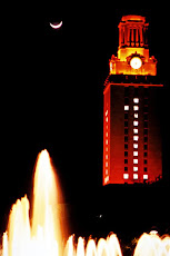 UT Austin Tower at Night