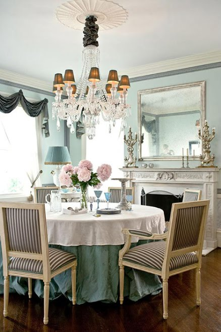 Get The Look: Parisian Chic Dining Room
