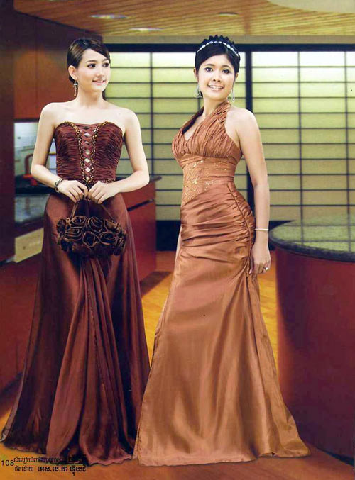 Khmersmile Khmer Traditoinal Wedding Dress