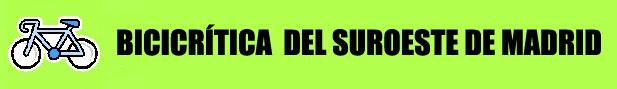 Bicicrítica del Suroeste de Madrid