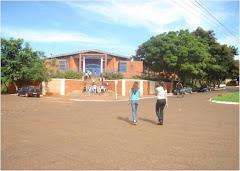 Frente da Escola E. Pe. Antônio Sepp