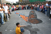 The Amazing Pavement Drawings of fellow Nabob, JULIAN BEEVER