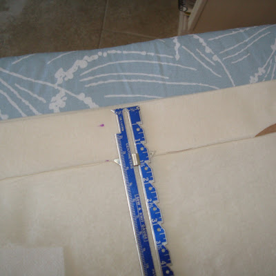 Recycle your t-shirt into a toddler skirt (tutorial) step 8 via lilblueboo.com