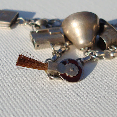 Collecting Vintage Charms and Trinkets - Charm Giveaway I 7 via lilblueboo.com
