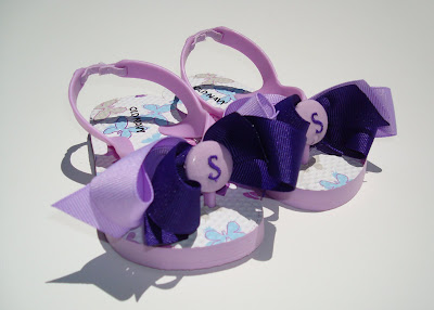 Cutest Party Favor Ever - Miss Prissy Flip Flops via lilblueboo.com
